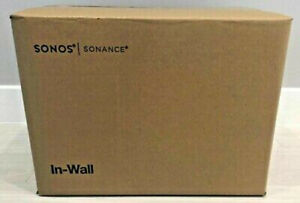 """Sonos INWLLWW1 In Wall 6.5"""" 2-Way Speakers, Architectural In-wall, Pr Brand New"""