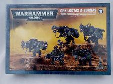 ORK LOOTAS & BURNAS 50-22 (Warhammer  40000) New Factory Sealed NIB
