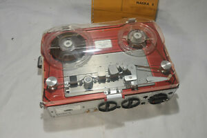 (1) NAGRA E reel to reel tape recorder. Very nice condition.