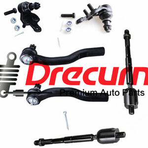 6Pc Inner Outer Tie Rod Lower Ball Joint SET For Lexus ES330 Toyota Camry Solara