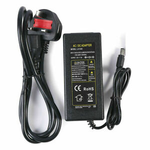 12V 2A 3A 5A 8A 10A Power Supply Unit For LED Light CCTV Computer Game Console