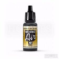 Vallejo Model Air Black 71057 Acrylic Airbrush Paint 17mls