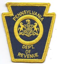 **PENNSYLVANIA STATE DEPARTMENT OF REVENUE POLICE PATCH**