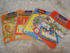 Children's Lot 4 Leap 1 Leappad books Leap Frog pooh Reading phonics & more