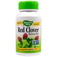 Red Clover, Blossom & Herb,  400mg x 100 Veg Capsules - Natures Way