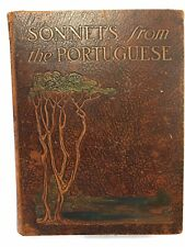 Sonnets From The Portuguese Elizabeth Barrett Browning Photo Illustrated 1923