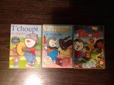 Lot de 3 DVD - T'CHOUPI
