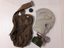Ussr Soviet Gas mask Russian .Grey rubber. Respirator