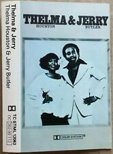 THELMA HOUSTON & JERRY BUTLER-RARE 1977 UK cassette TAMLA label-PLAYTESTED-Ex!