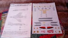 MICROSCALE 48-5 1/48 SCALE DECALS NOS F-4E PHANTOMS 336TFS/4TFW 34TFS/338TFW
