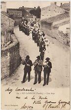 LE LANGON - VENDEE - UNE NOCE (FRANCIA) 1929