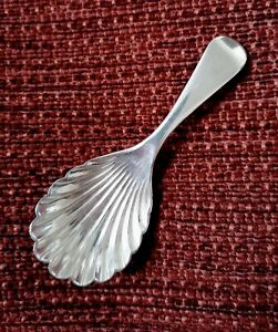 Nice Little Antique EPNS Tea Caddy Spoon