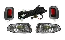 Ez-Go Rxv Halogen Headlights Led Taillights Basic Golf Cart Light kit 2008- 2015
