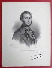 LITHOGRAPHIE de GREGOIRE et DENEUX d'après MAURIN  JOBERT de Lamballe  Medecin