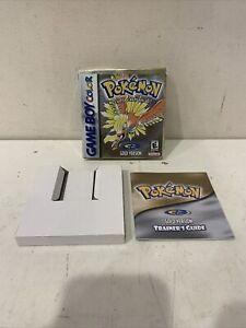 Gold Version EMPTY BOX Pokemon Game Boy Color Nintendo  NO GAME !!