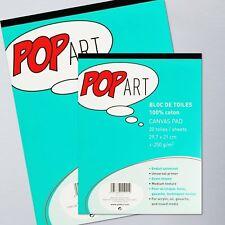 Pebeo Pop Art Canvas A3 Pad - 10 Sheets