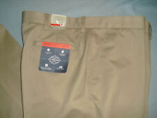New NWT St John Bay Worry Free Khaki Mens Pants Sz 42 x 32 tan flat