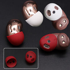 Silicone Ear Tips Earpads Non-slip Caps for Samsung Galaxy Buds Live Headset