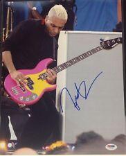 Tony Kanal Signed 11x14 Photo PSA Cert# Z77109