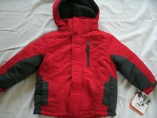Pacific Trail Boy's 4 in 1 System Jacket Red Gray 4 New