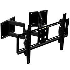 """32-65"""" Full Motion Tv Wall Mount Bracket Corner Installation Living Room Bedroom"""