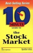 Ten Minute Guide to the Stock Market by Diane Vujovich (1997, Hardcover)