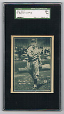 1931 W517 #9 BUCKY HARRIS *SGC 84 (7)* HOF *PLAYER/MANAGER/EXEC *SENATORS *YANKS