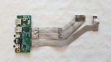 Asus N71JQ, N71JQ Port USB Carte Son Prise Audio Carte Board PCB047 69N0GLA11A04