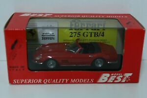 FERRARI 275 GTB/4 Spyder 1:43 Best Box