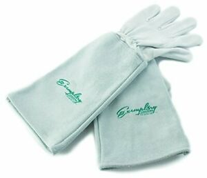 Exeplary Gardens Rose Pruning Gloves for en and Woen. Thorn Proof Goatskin