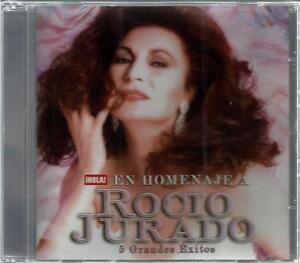 ROCIO JURADO   * EN HOMENAJE * BRAND NEW ~ SEALED    CD