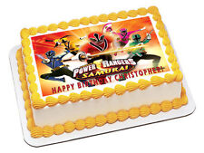 Power Rangers Samurai - Edible Cake Topper OR Cupcake Topper, Decor