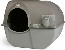 New listing Sale Offf Omega Paw Large Roll 'n Clean Self Cleaning Litter Box for Cats
