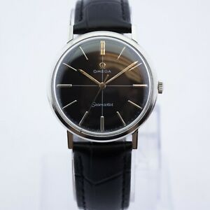 Excellent Vintage Omega Seamaster Stainless Steel Watch 34mm *WE ARE A SHOP*