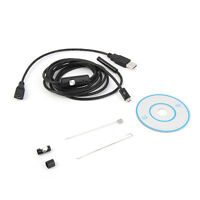 5.5mm 6 LED Endoscope Borescope Inspection Camera For Android /For PC Pro ADT
