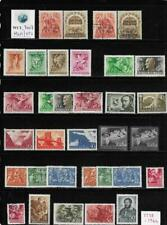 WC1_7007. HUNGARY. Clean lot of 1938-44 sets & stamps. MLH & Used