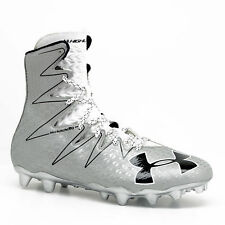 c2eaeee5402 Under Armour Men s UA Highlight MC Football Cleats Silver (1294744-102) SZ  11