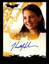 Batman Begins Movie Katie Holmes as Rachel Dawes Autograph Card Topps 2005