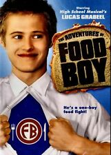 New Dvd - The Adventures Of Food Boy - Lucas Grabeel, Brittany Curran,