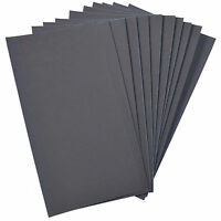 """10-Pack HQRP 3"""" x 5 1/2"""" Wet and Dry Sandpaper 2000 Grit Waterproof Silicone"""