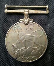 BRITISH INDIA 2ND WORLD WAR MEDAL KG VI 1939-1945 L@@K!