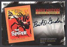 Movie Posters 2010 Sci-Fi & Horror Breygent Autograph Card #Sh-Bg Bert I. Gordon