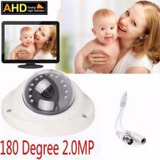 2.0Mp Hd 1080P Cctv Ahd Camera 180 Degree Fisheye 12pcs Ir Led camera+Osd key