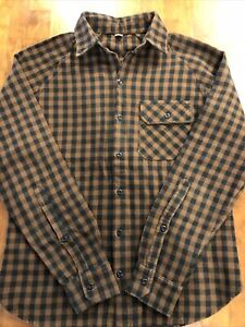 Freeman Seattle Flannel Shirt Mens Size 38 Made in USA!