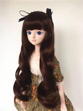 """New BJD Doll Wig Dollfie 5"""" 1/8 SD DZ DOD LUTS Bjd Doll Wig 1-21 Colors MBS005"""