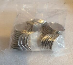 NEW Catherine & William 50p coin 2021 Gibraltar seal bag 50 coins