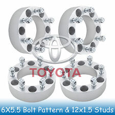 "2"" Toyota 6 Lug Wheel Spacers 6x5.5 6x139.7 Fits For Tacoma 2001 - 2017"