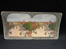 Stereoview #35 Stock,Sweden,The Great Norrbro (north bridge)