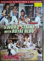 Sword Stained With Royal Blood -Hong Kong RARE Kung Fu Martial Arts Action movie