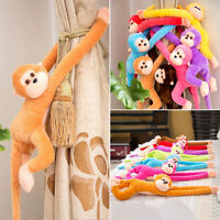 Colorful Long Arm Monkey Hanging Soft Plush Doll Stuffed Animal Kids Baby Toy Sd